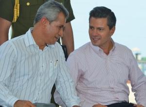 140813 EPN MAM en Manzanillo