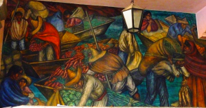 Mural en el mercado Abelardo L. Rodrìguez, D.F. 2