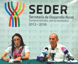011014 Conferencia de prensa SEDER, Yucatán