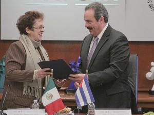 020614 Estrechan México y Cuba cooperación en materia de pesca y acuacultura