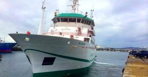 021014 Buque de Investigación Pesquera y Oceanográfica arribará a Mazatlán