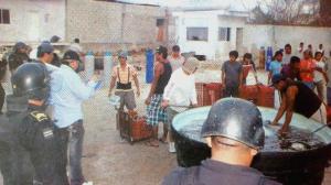 Conapesca halla sancochadero en Dzilam, huyen pepineros furtivos