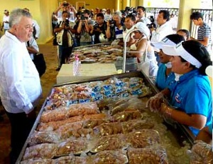 Productos Marinos, lo de más alto valor nutricional,  Mario Aguilar Sánchez