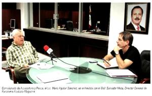 entrevista MAS, Panorama Acuícola