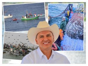 082414 Gestiona Roberto Sandoval recursos para la pesca