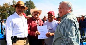 Entrega de lanchas ymotores,Jamay, Jalisco